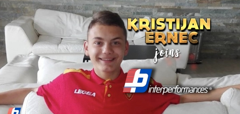 FOOTBALL PROSPECT KRISTIJAN ERNEC JOINS INTERPERFORMANCES