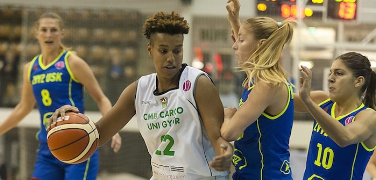 Cyesha Goree is officially a Hungarian player