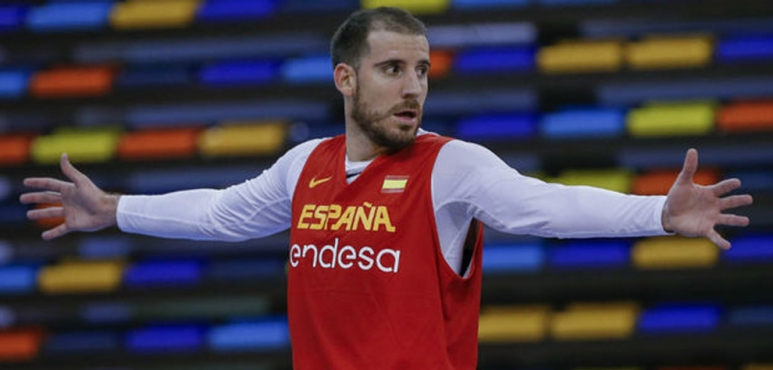 Colom leads Spain past Slovenia