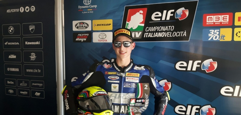 Bernardi clinches podium in 2018 championship opening