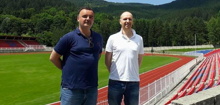 Bojan Tanjevic and Nerijus Stukas meet in Montenegro