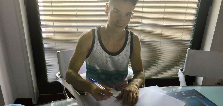 Motocross Champion Andrea Zanotti signs with Interperformances