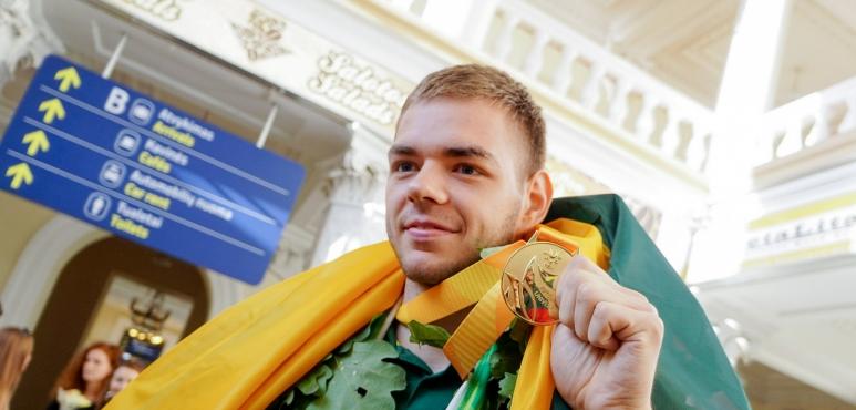 Donatas Tarolis Champion of Summer Universiade 2017 in Taipei