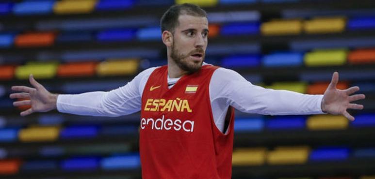 Colom leads Spain past Slovenia