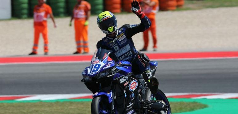 Fourth place for Luca Bernardi in Misano