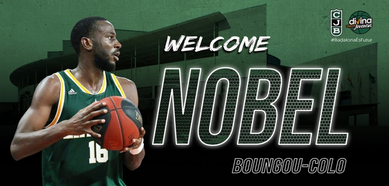 Nobel Boungou-Colo is a newcomer at Joventut