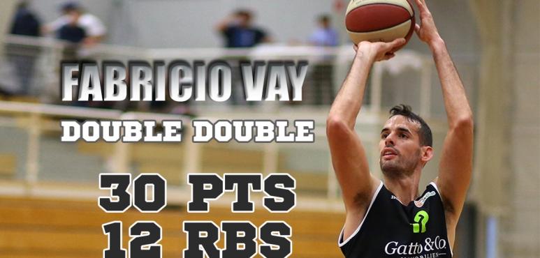 Fabricio Vay's double double in Austria