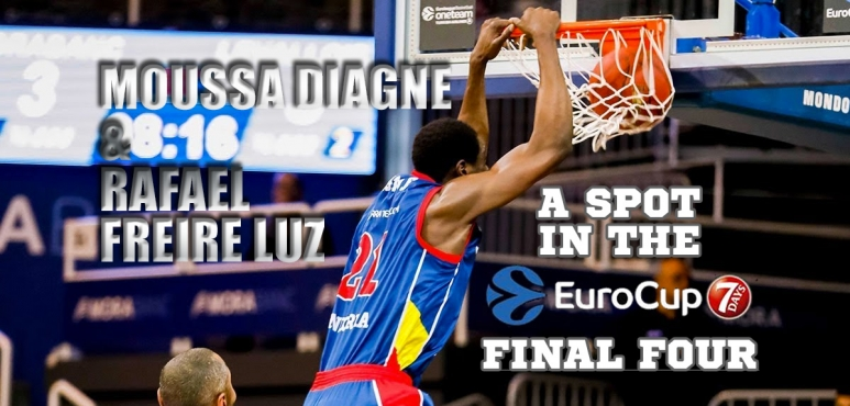 Diagne and Freire-Luz join Final Four in the Eurocup with Andorra