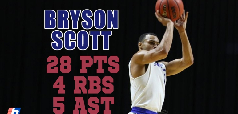 Another great performance by Bryson Scott