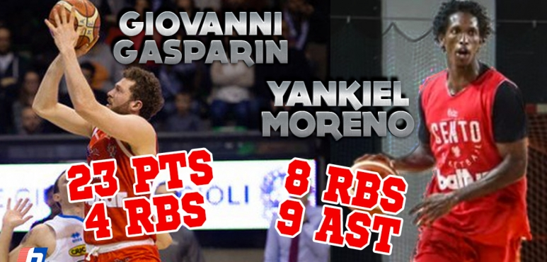 Great numbers by Gasparin and Moreno in Italy