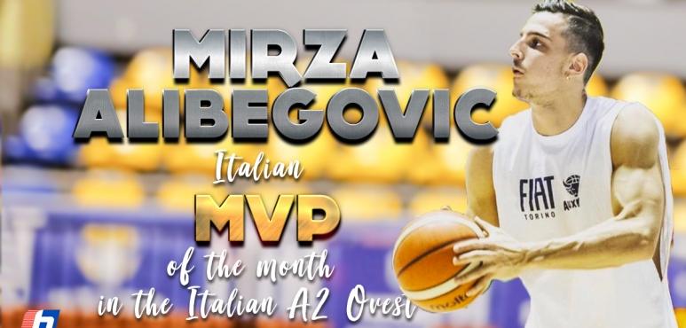 Mirza Alibegovic shines in Italy