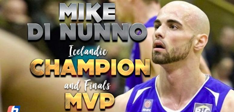 Di Nunno and KR celebrate Dominos League title