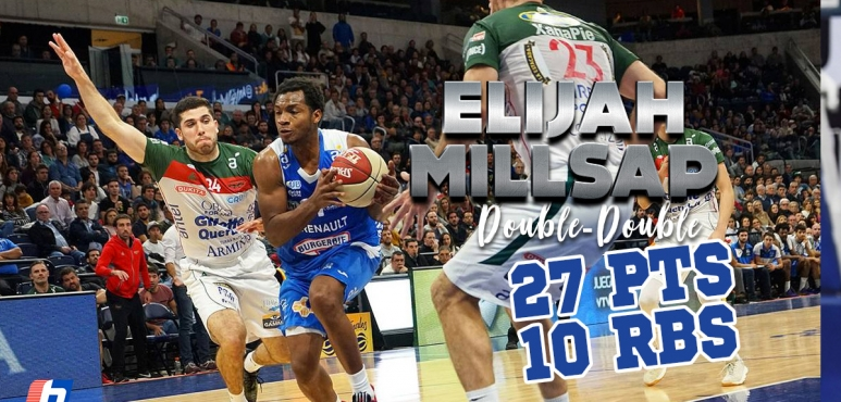 Elijah Millsap shines in Uruguay finals