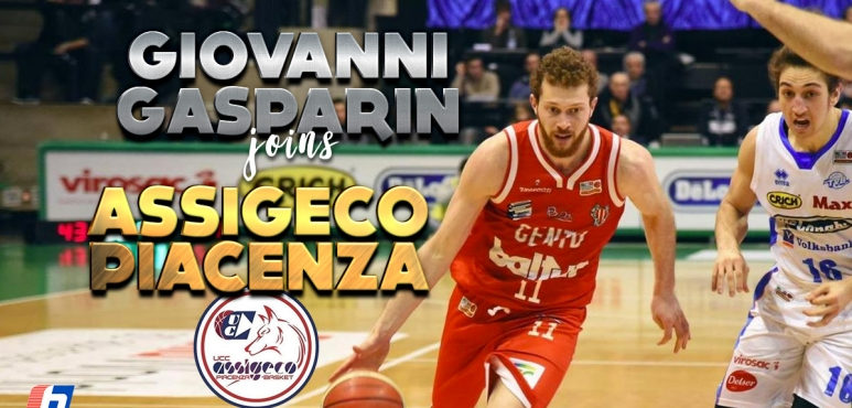 UCC Assigeco Piacenza adds Gasparin to their roster