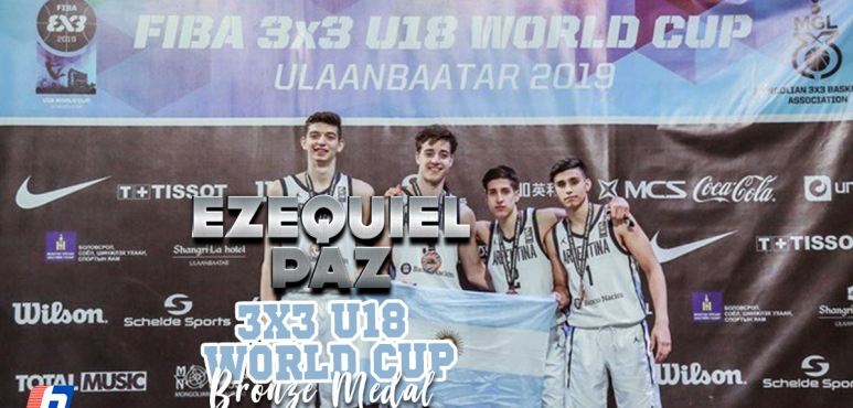 Paz' bronze medal in 3X3 World Cup