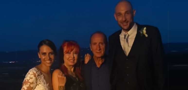 Marco Cusin got married