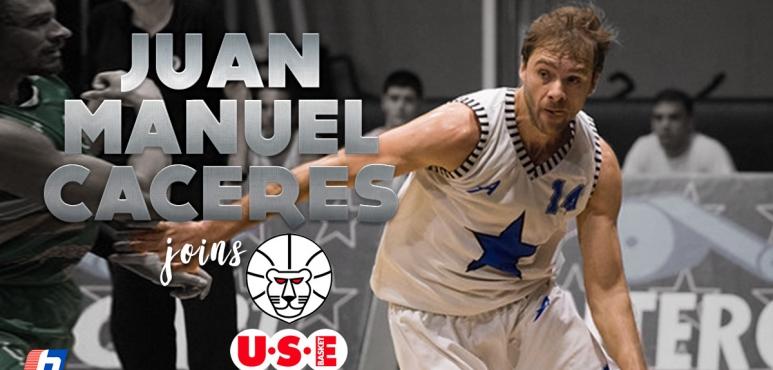 USE Basket tabs Juan Manuel Caceres