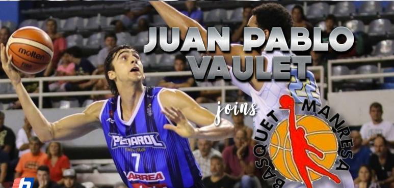 Juan Pablo Vaulet agreed terms with Manresa
