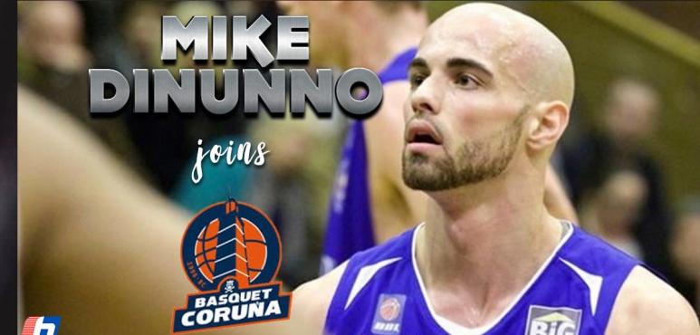 Coruna inks Mike DiNunno