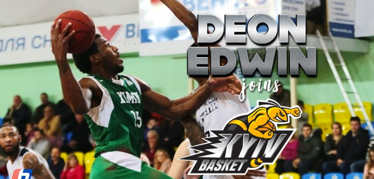 Kyiv Basket adds Edwin to their roster