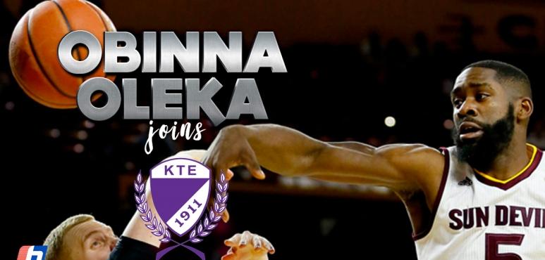 Obinna Oleka joins KTE-Duna