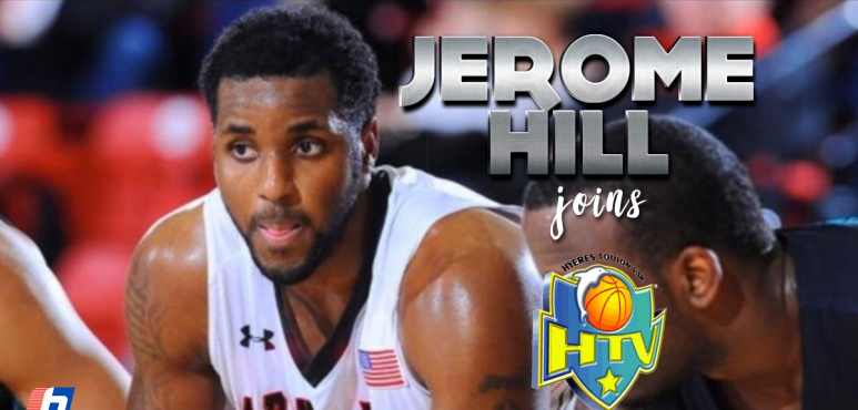 Hyeres-Toulon signs Jerome Hill