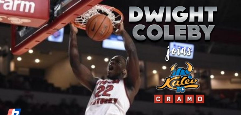 Dwight Coleby signs at Kalev/Cramo