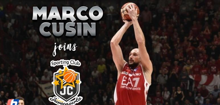 JuveCaserta lands Marco Cusin
