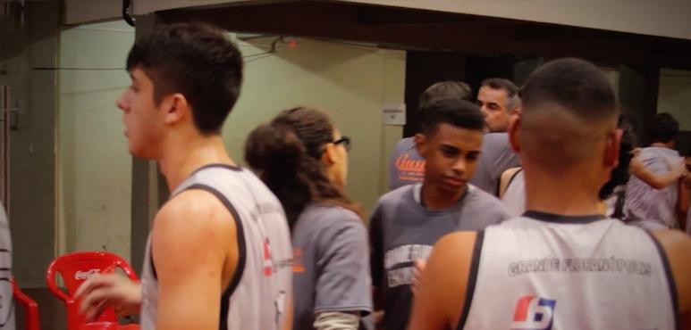 Promotional video of Grande Florianopolis Escola de Basket