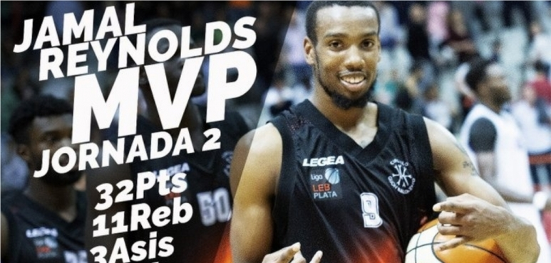 Reynolds' double-double lands him LEB Silver Player of the Week award