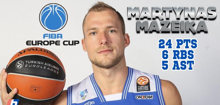 Shooting night for  Martynas Mazeika
