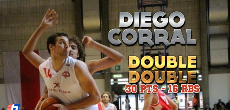 Diego Corral's amazing game against Bernareggio