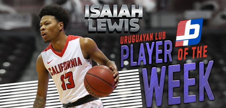 Lewis' 31-point game gives him Player of the Week award in Uruguay