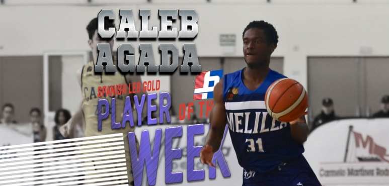 Agada's 40-point game gives him LEB Gold Player of the Week