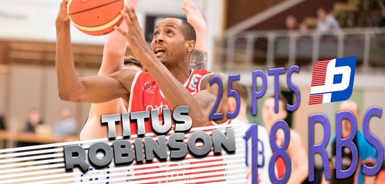 Titus Robinson shines in Luxembourg