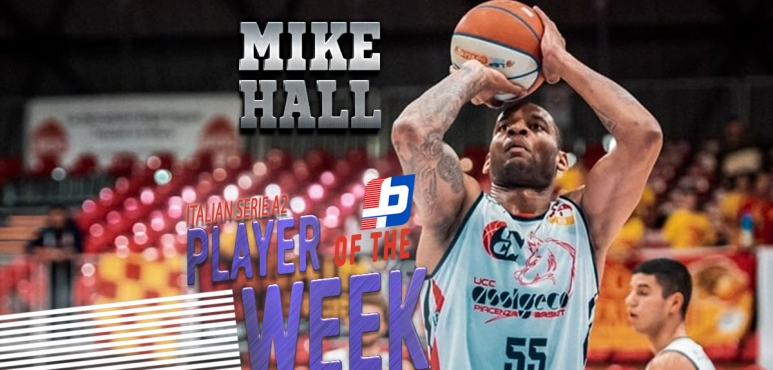 Mike Hall: Best player of the Italian Serie A2 (Rd. 13)
