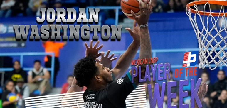 Washington's double-double lands him LNBP Player of the Week award
