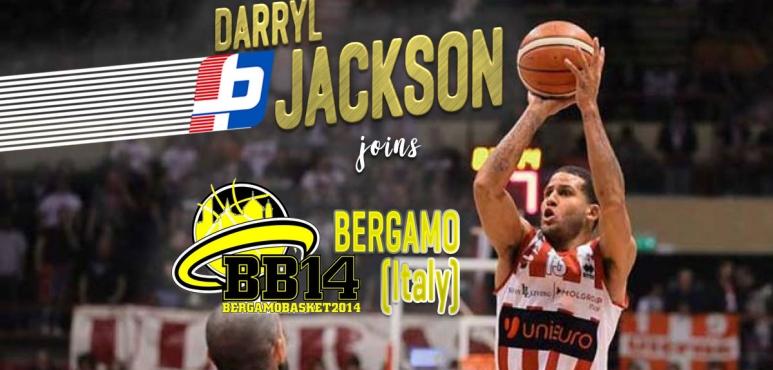 Darryl Jackson signs at Bergamo Bsk