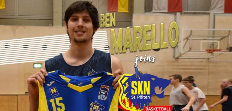 Ben Marello joins St. Polten