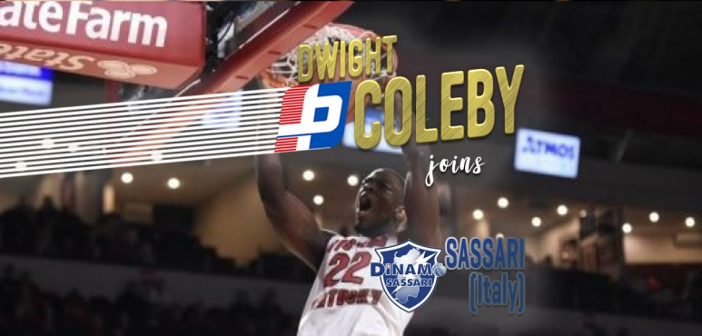Dwight Coleby agreed terms with Sassari