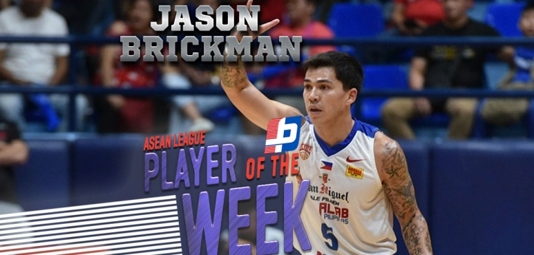 ASEAN League round 10 best performance: Jason Brickman