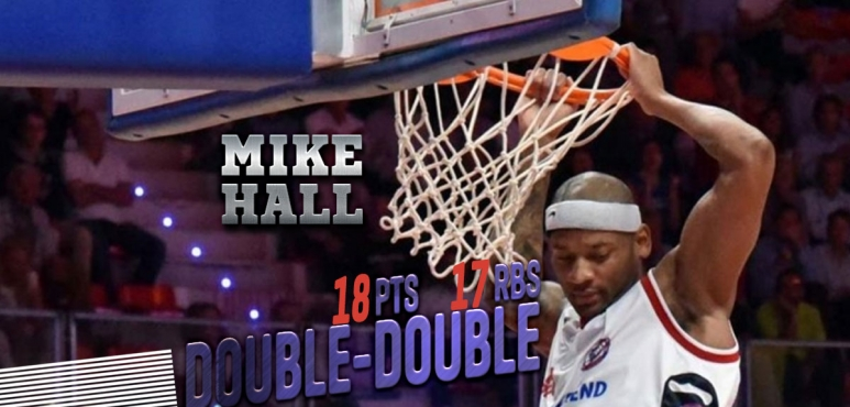 Mike Hall shines in Italy