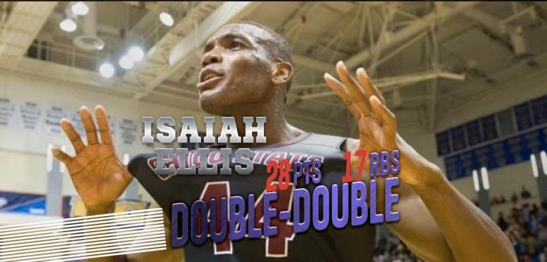 Double Double for Isaiah Ellis