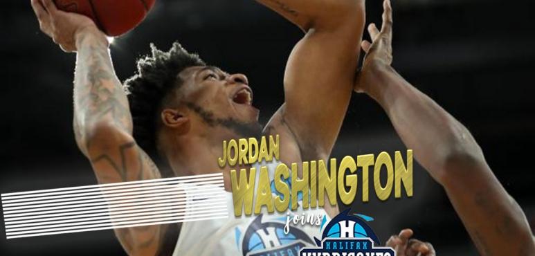 Halifax Hurricanes Re-Sign Jordan Washington