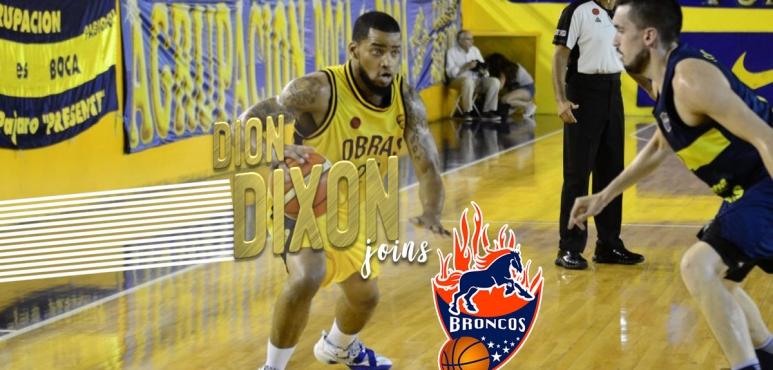 Dion Dixon joins Broncos de Caracas