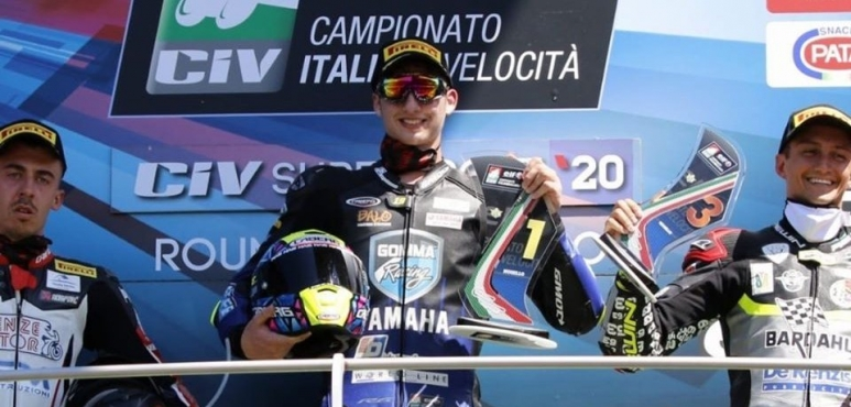 Luca Bernardi, back on the podium!