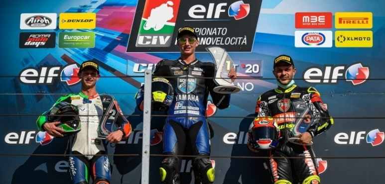Two more podiums for Luca Bernardi