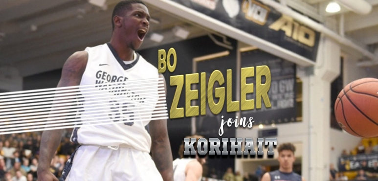 Bo Zeigler joins Korihait