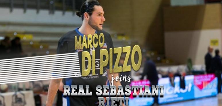 Real Sebastiani Rieti signs Marco Di Pizzo