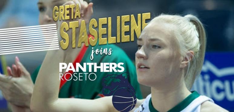 Greta Staseliene Tamasauskaite joins Roseto